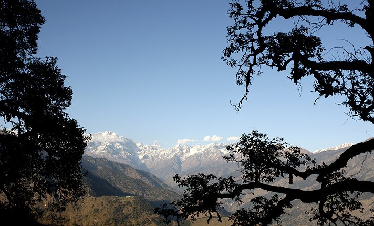 View on the Himalayas