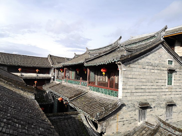 Tulou Fuyulou Changdi Inn Heritage Buildings