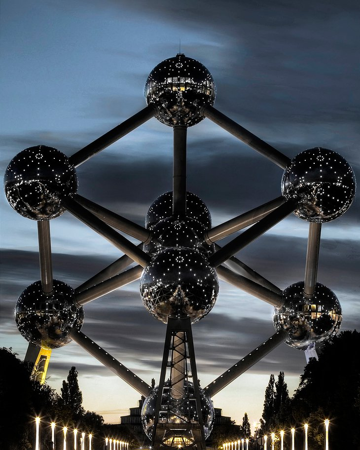 Atomium tower in Brussels