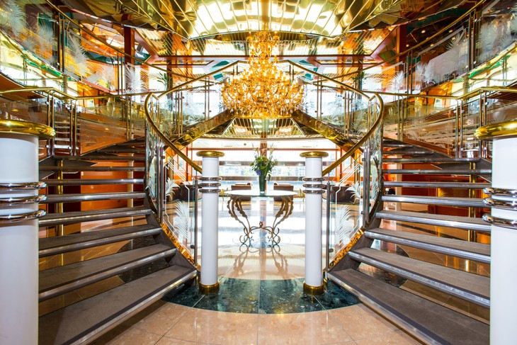 Sunborn London staircase