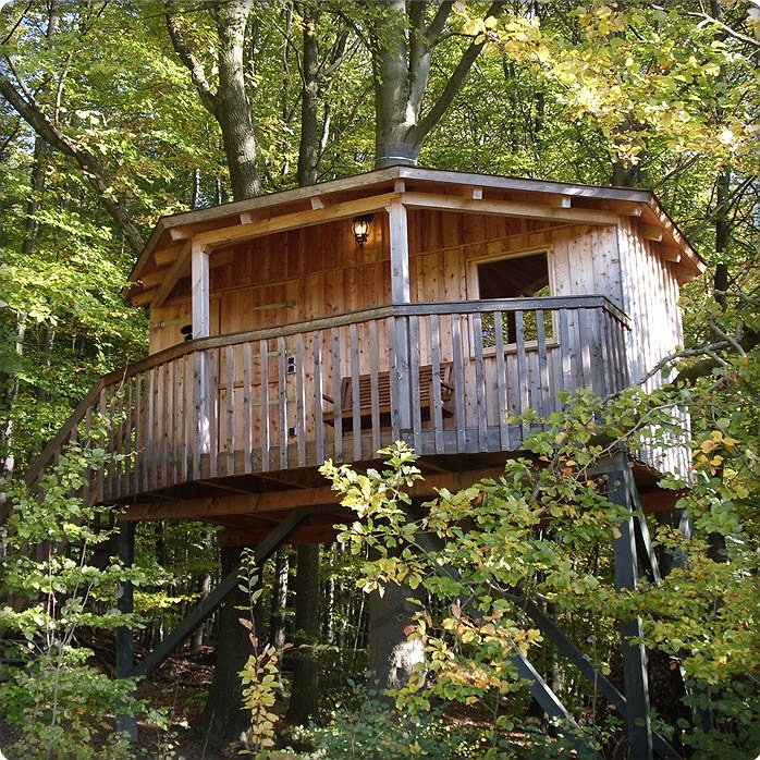 Baumhaushotel Solling tree house