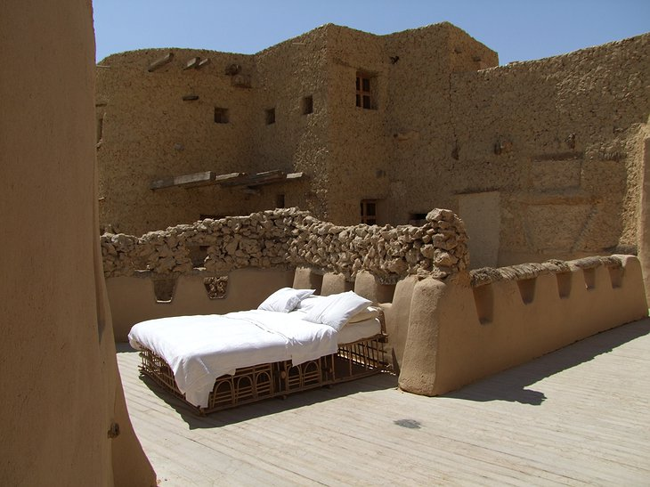 Sleeping under the open sky in Egypt