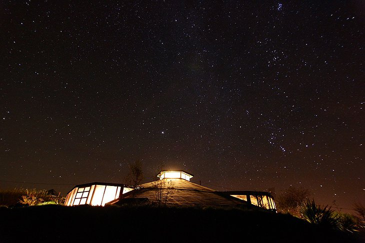 Gyreum Ecolodge starry night