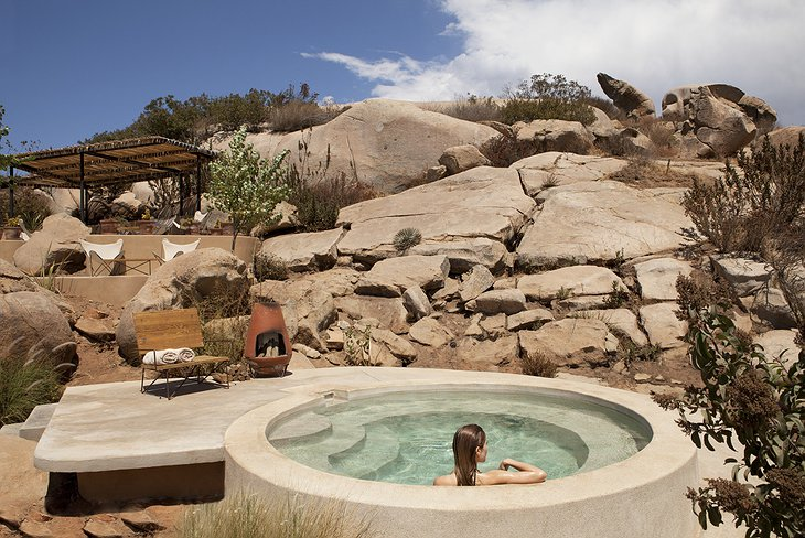 Hotel Endemico jacuzzi