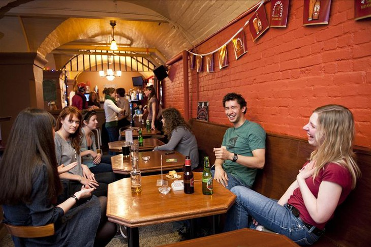 Ottawa Jail Hostel common area
