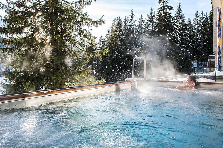 Pure Altitude Spa outdoor pool