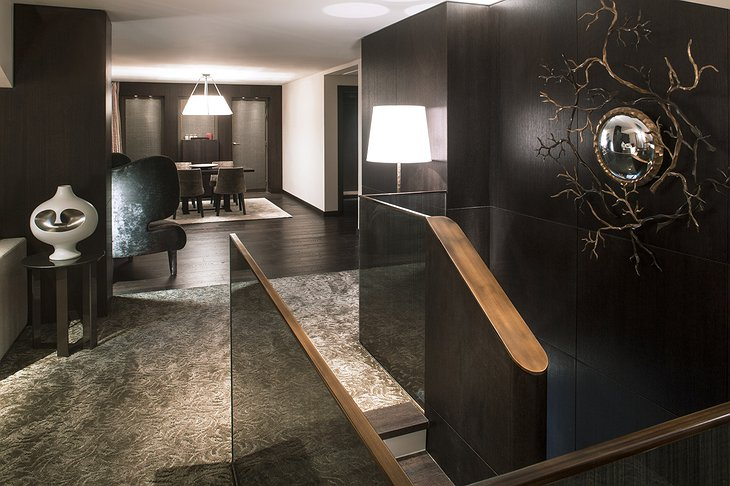 Cheval Blanc Courchevel duplex suite