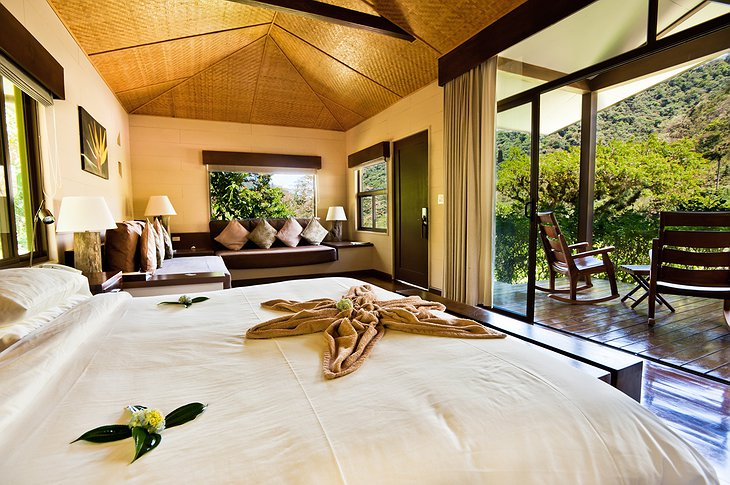 El Silencio Lodge suite interior