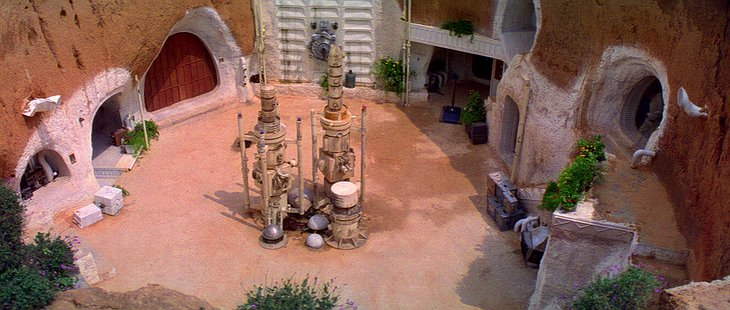 Hotel Sidi Driss in Star Wars Episode IV: A New Hope