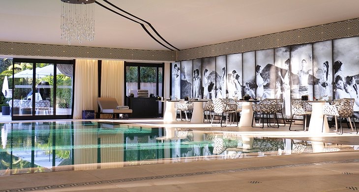 Hotel Metropole indoor swimming pool