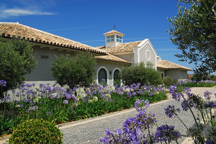 Finca Cortesin Hotel building