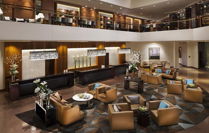 Four Seasons Sydney lounge