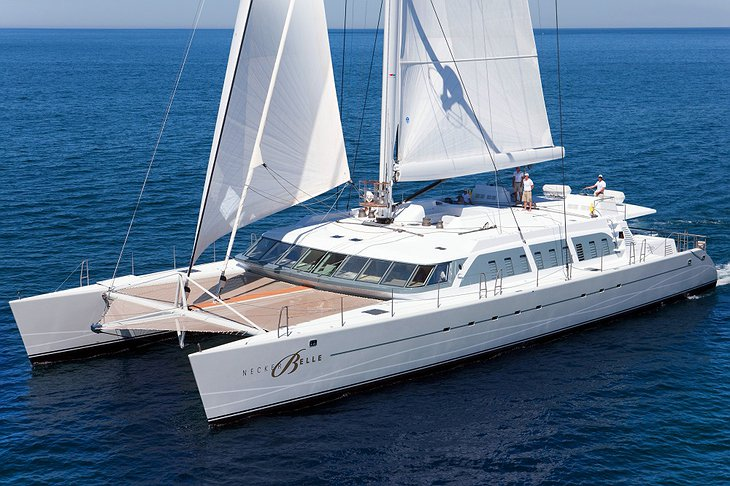 Necker Belle luxury sail yacht