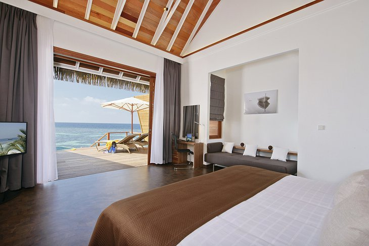Kandolhu Island sea villa room