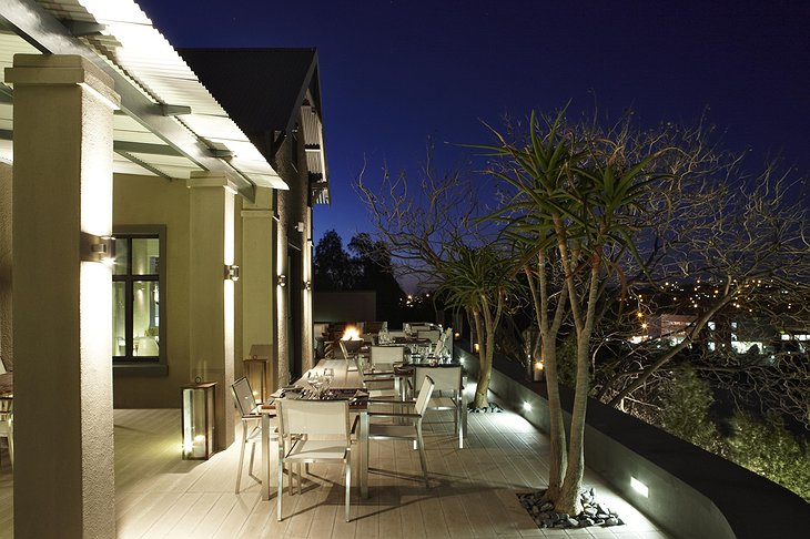 The Olive Exclusive terrace