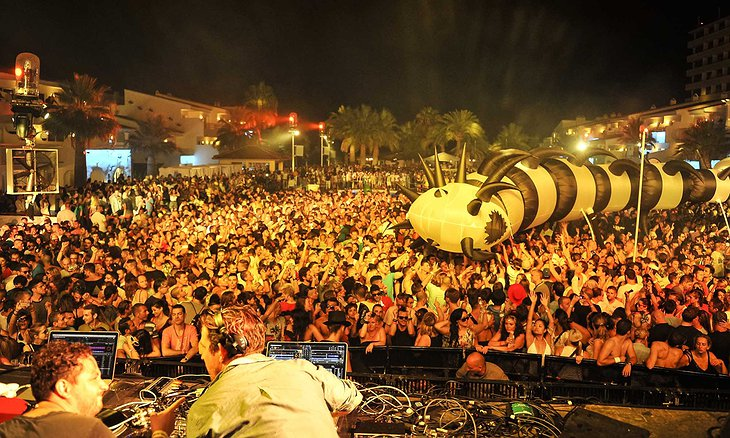Ushuaia Ibiza Beach Hotel party