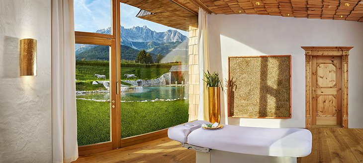 Green Spa Resort Stanglwirt Spa Massage