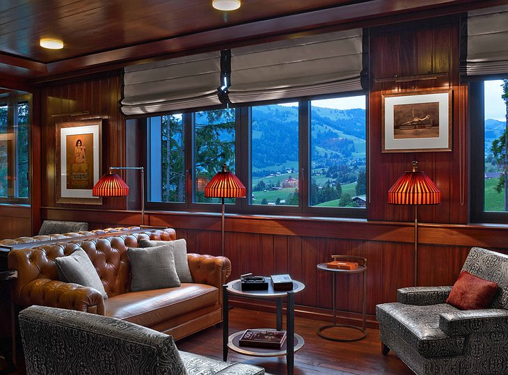 Alpina Gstaad Lounge