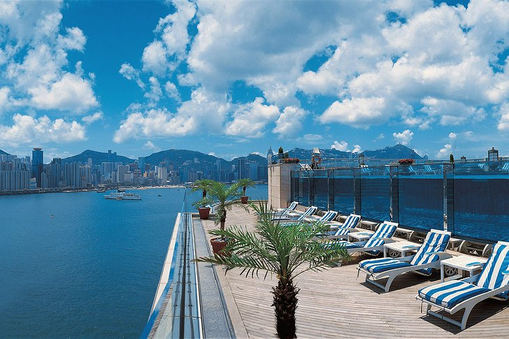 Harbour Grand Kowloon rooftop pool