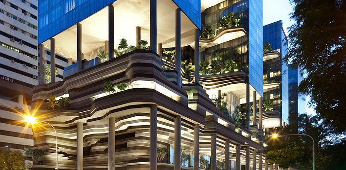 Parkroyal On Pickering In Singapore - Vertical Urban Jungle