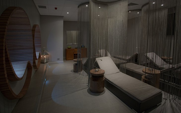 Auchrannie Resort spa relax room