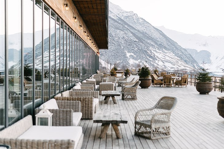 Rooms Hotel Kazbegi Terrace