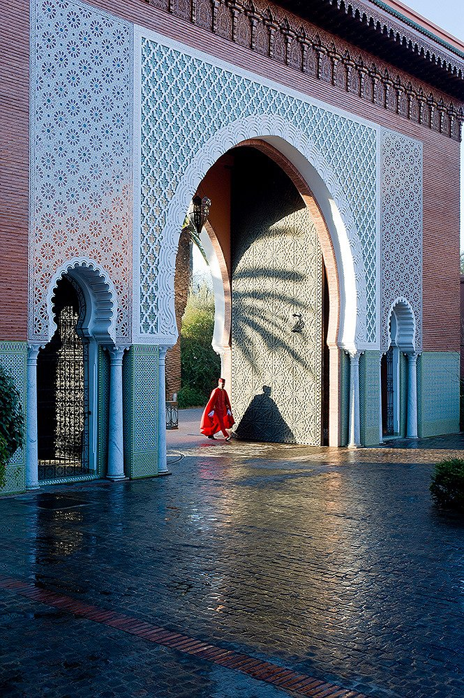 Royal Mansour Marrakech great entrance