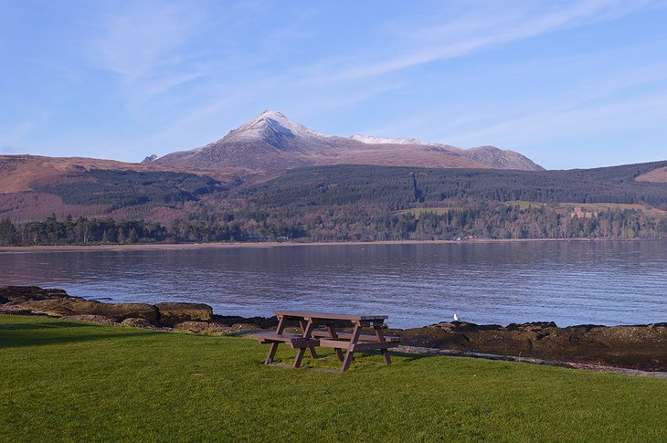Isle of Arran lake
