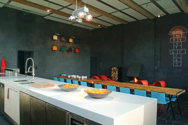 La Classe kitchen and dining room