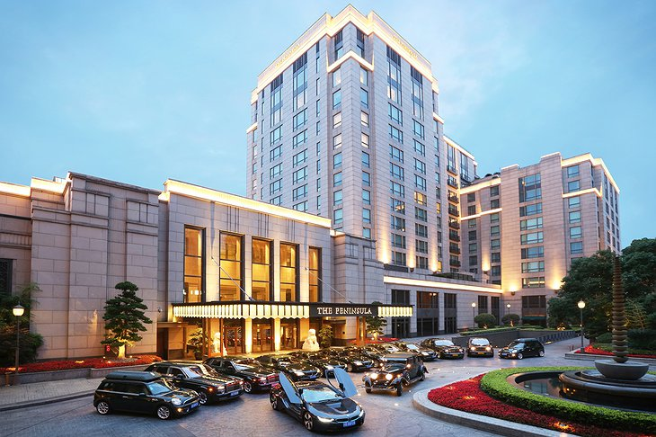The Peninsula Shanghai luxury car Fleet