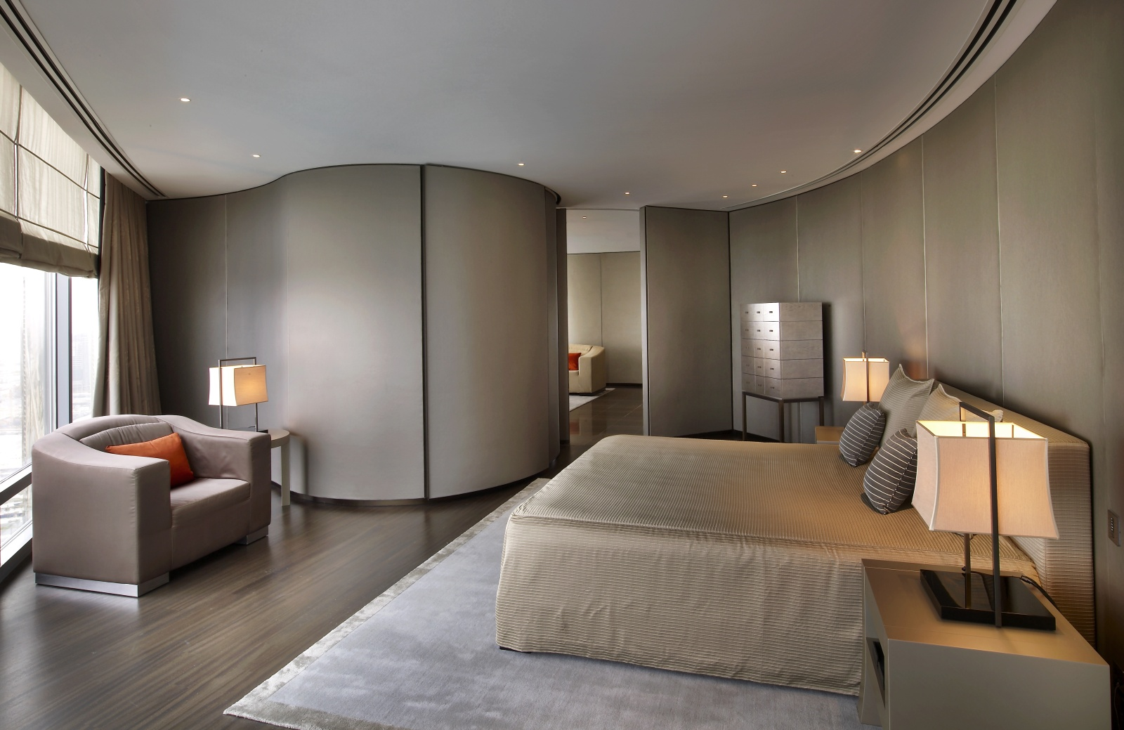 Armani Hotel Dubai - Armani bedroom design