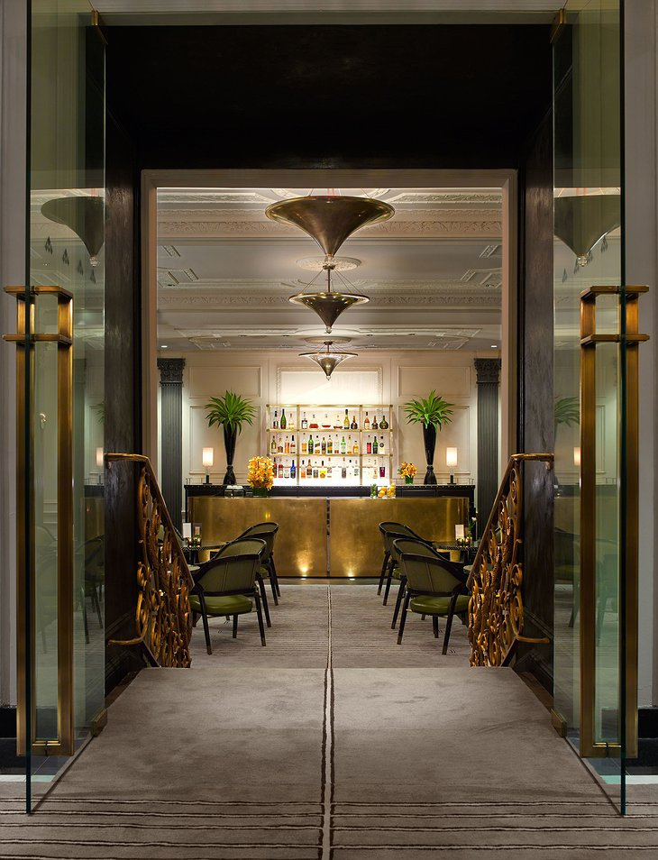 The Pierre Hotel bar