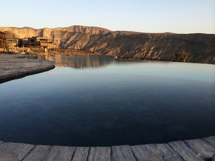 Alila Jabal Akhdar outdoor pool