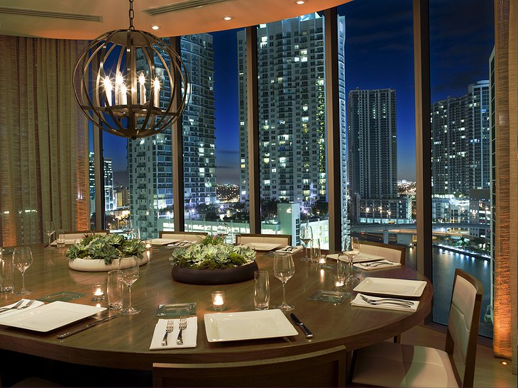 Epic hotel private dining room