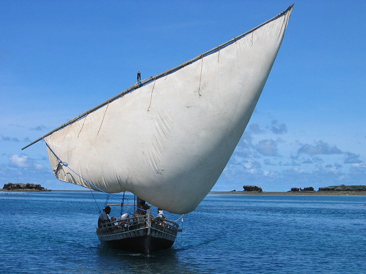 Dhow of Chole Mjini Lodge