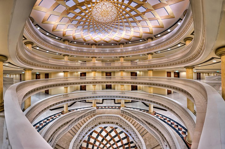 Kempinski Palm Jumeirah dome interior