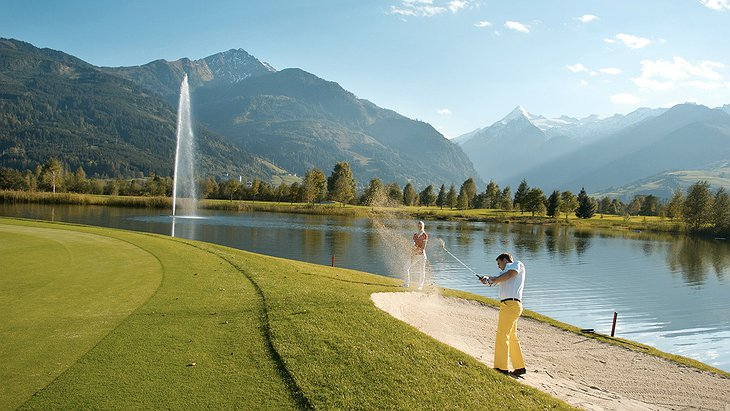 Golf club in Zell am See-Kaprun