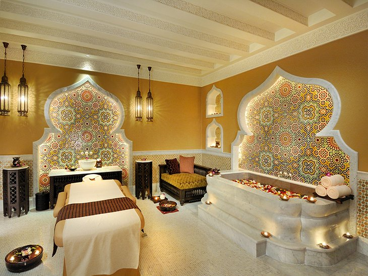Emirates Palace Spa massage