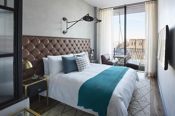The Williamsburg Hotel bedroom