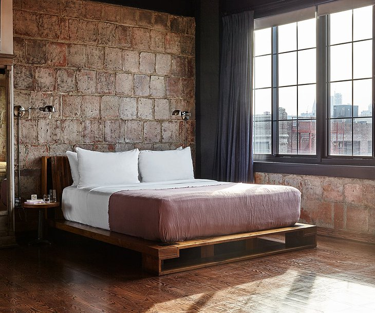 The Collective Paper Factory Penthouse Bedroom
