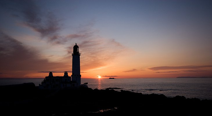 Corsewall Lighthouse sunset