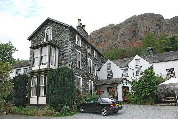 Old Dungeon Ghyll hotel
