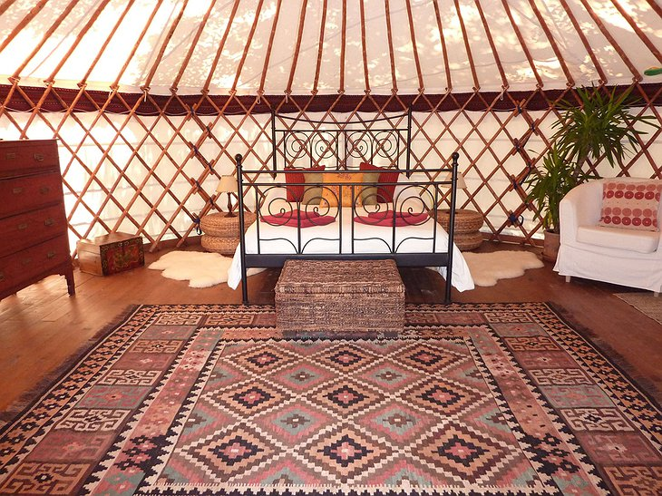 The Hoopoe Yurt Hotel Maimani yurt