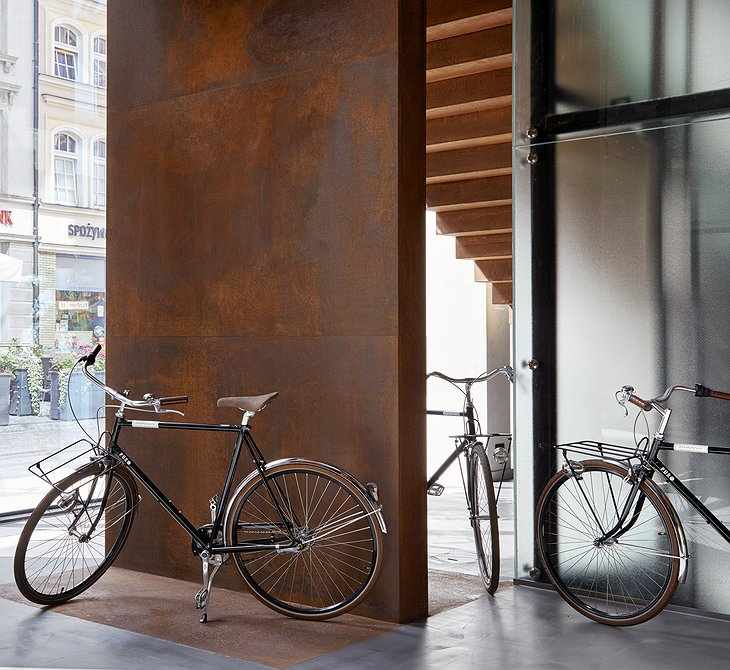 Puro Gdansk Hotel Bicycles