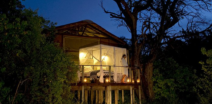 Sanctuary Baines' Camp - Open-Air Star Baths And Sky Beds In Botswana