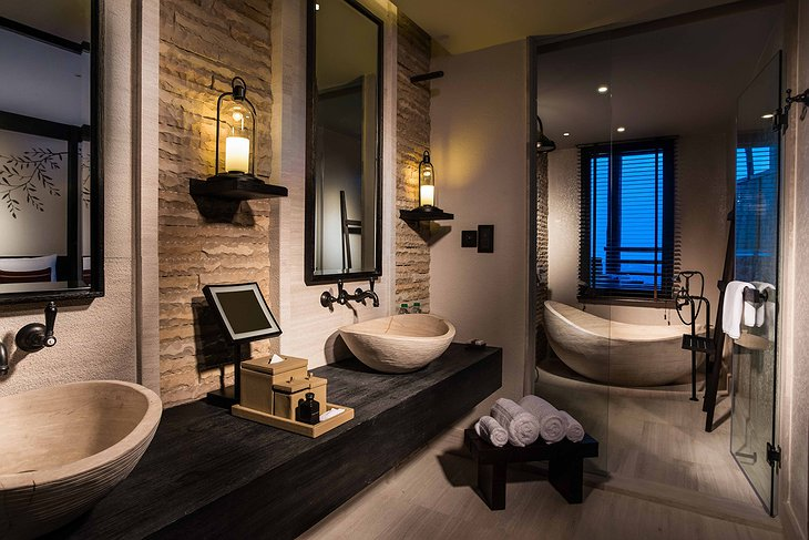 Alila Jabal Akhdar bathroom