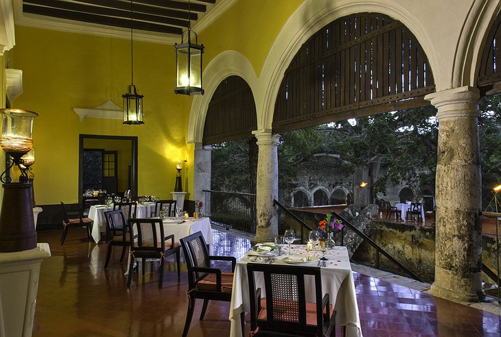 Hacienda Uayamon restaurant