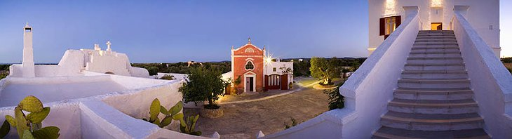 Masseria Torre Coccaro hotel panoramic photo