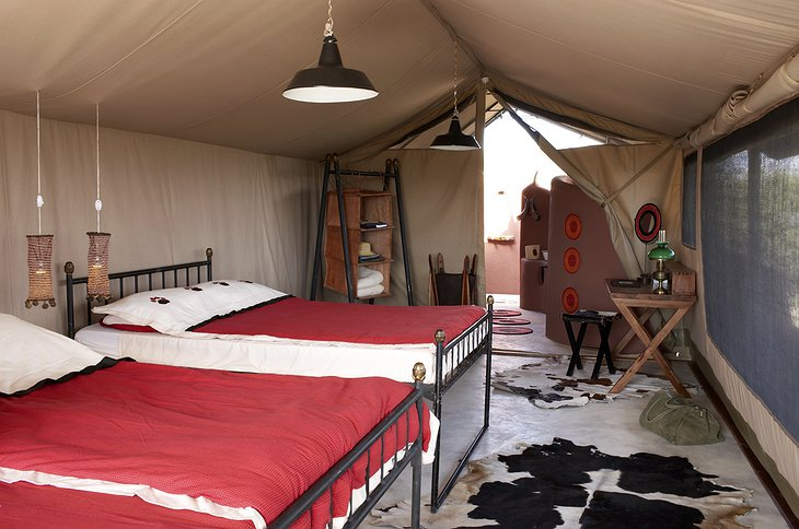 Shu'mata Camp room