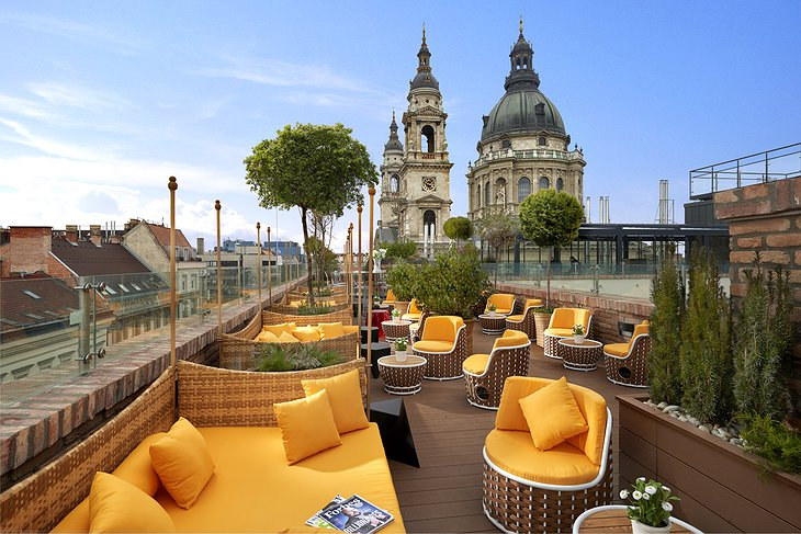 Aria Hotel Budapest Rooftop Terrace